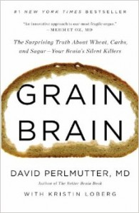 image of book titled, Grain Brain